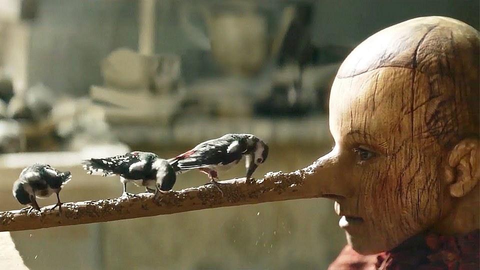Кадр из фильма Пиноккио (Pinocchio, 2020)