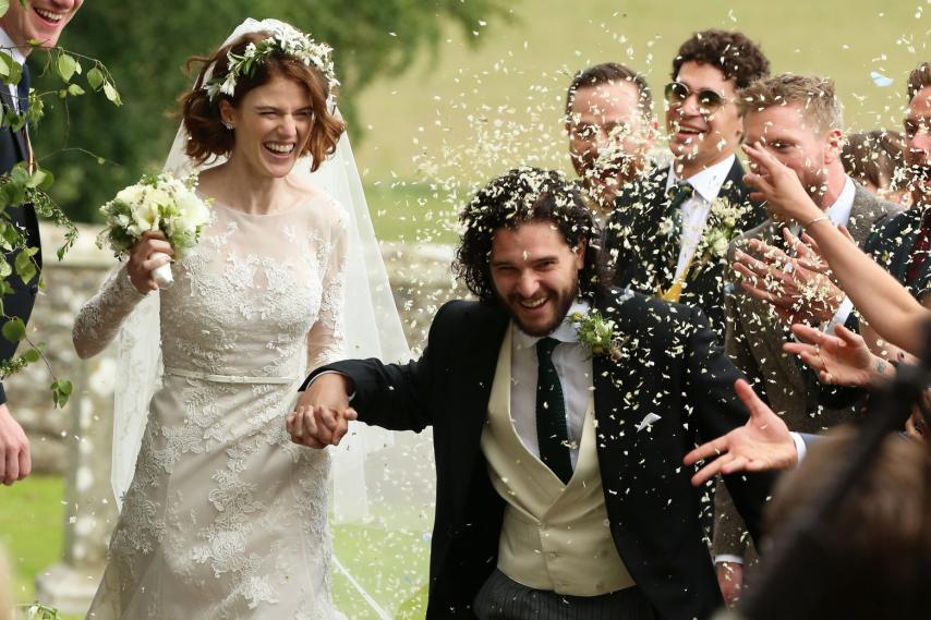Свадьба актеров. Фото с сайта newzmagazine.com