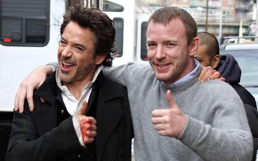 На съемках фильма «Шерлок Холмс». Фото с сайта kinopoisk.ru