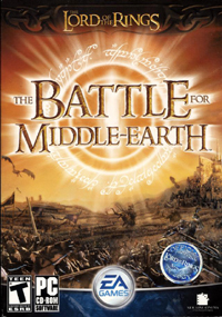 Обложка игры «Lord of the Rings: The Battle for Middle-earth»