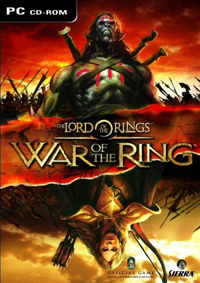 Обложка игры «The Lord of the Rings: War of the Ring»
