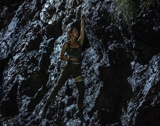 Кадр из фильма «Лара Крофт»