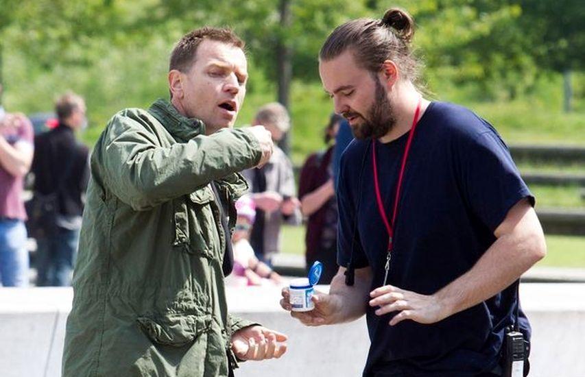 На съемках «На игле 2». Фото с сайта kinopoisk.ru
