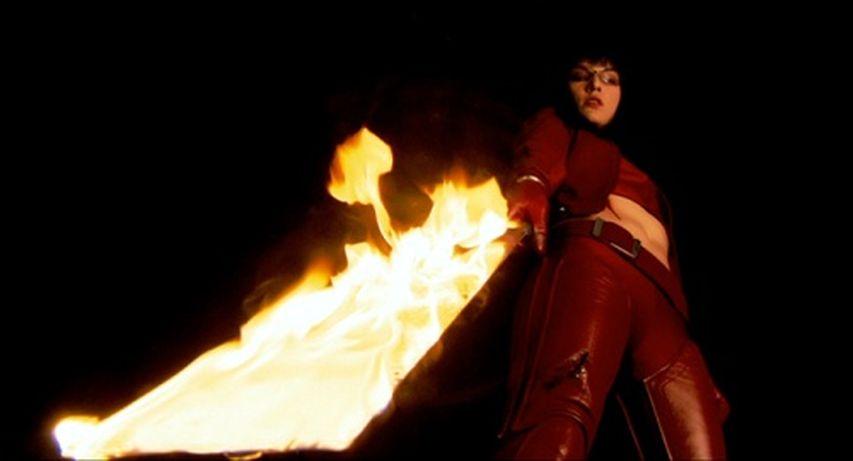 Кадр из фильма «Ультрафиолет»