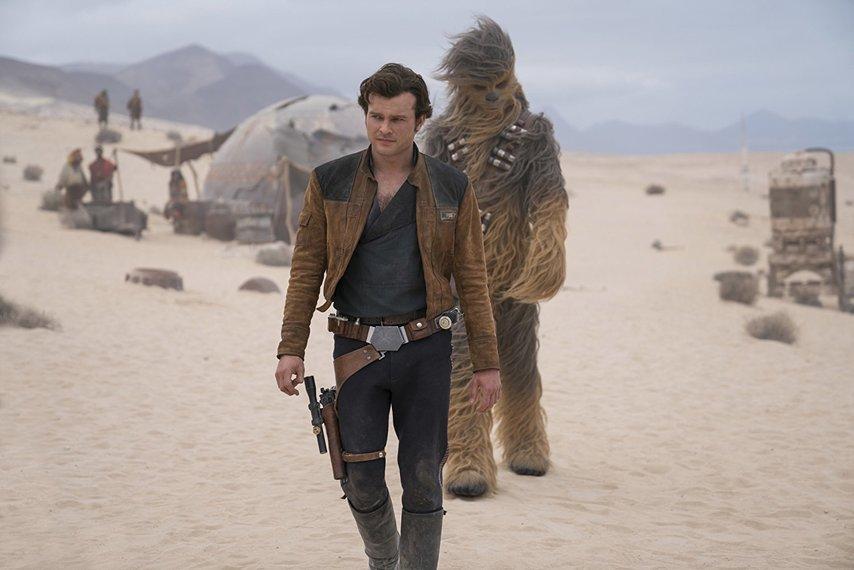 Кадр из фильма «Хан Соло: Звездные войны. Истории»