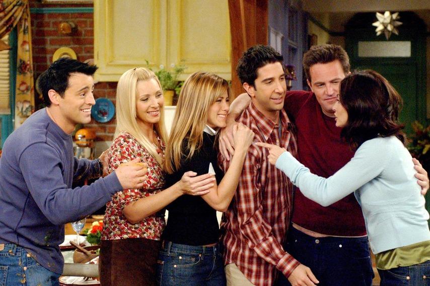 Кадр из сериала «Друзья»