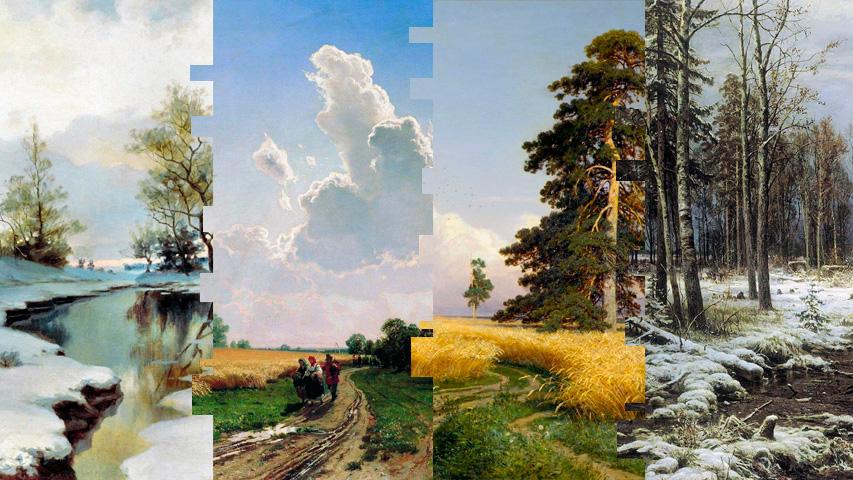 Афиша выставок: Мультимедийная выставка Шишкин. Одинокие леса