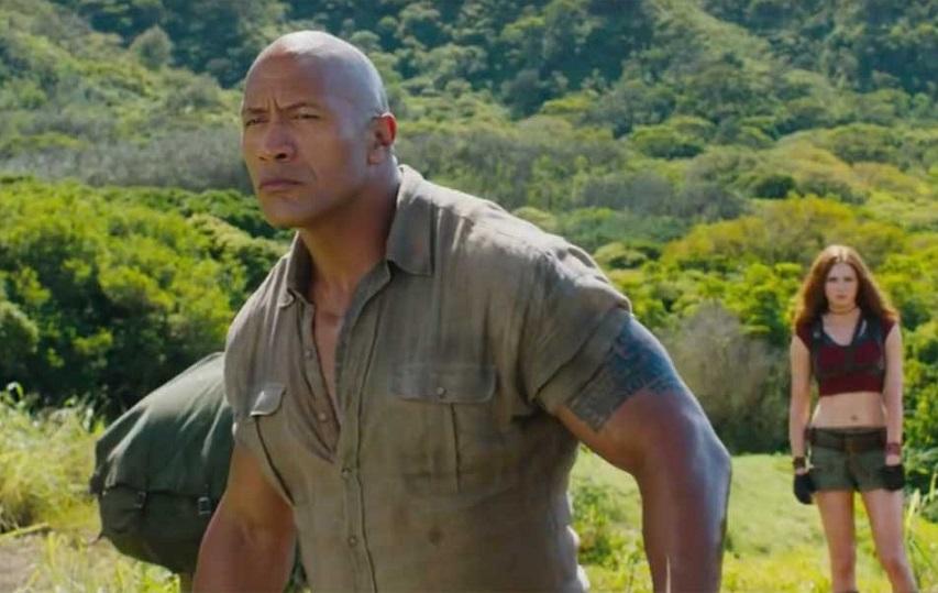 Кадр из фильма «Джуманджи. Зов джунглей»