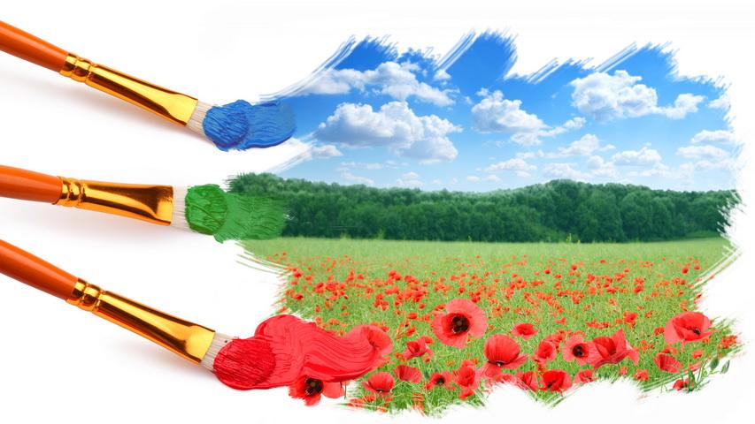 Краски. Фото с сайта nice-flowers.com