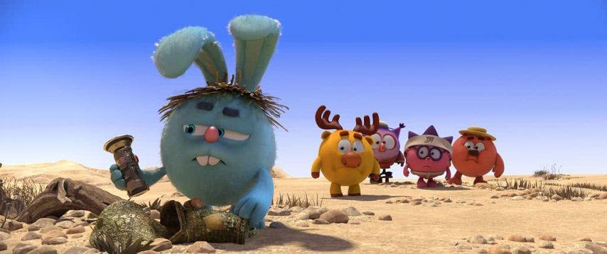 Кадр из фильма «Смешарики. Дежавю»