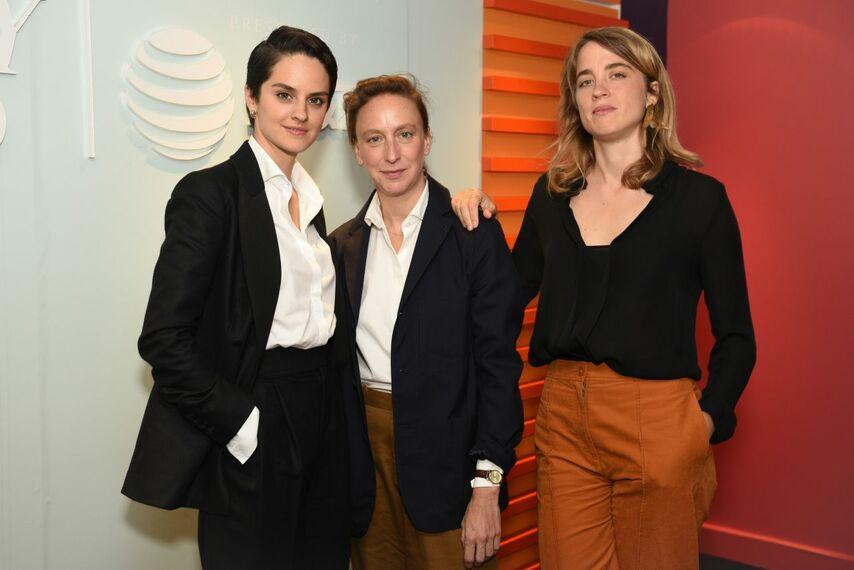 Мерлани, Сьямма и Энель. Фото с сайта celebmafia.com