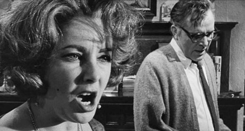 Кадр из фильма «Кто боится Вирджинии Вульф»
