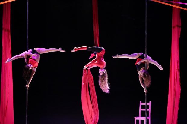 Воздушно-танцевальный спектакль «Love is». Фото предоставлено организаторами
