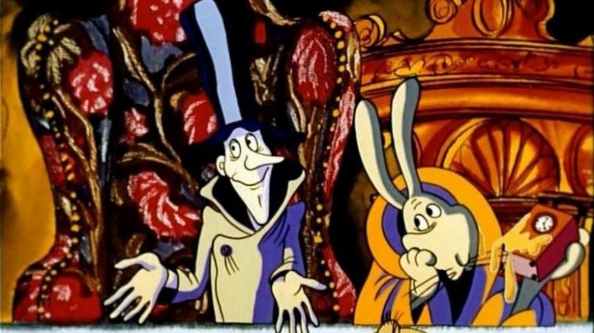 Кадр из мультфильма «Алиса в стране чудес»