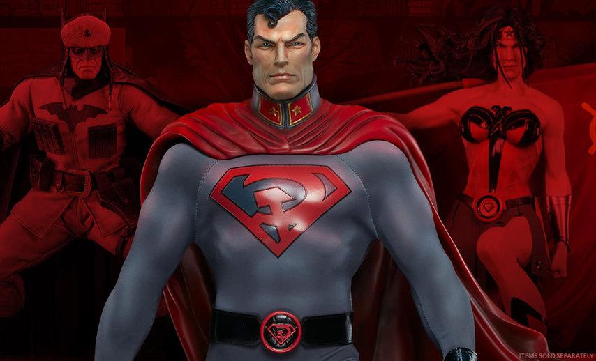 Кадр из комикса «Красный сын»