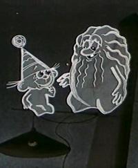 Кадр из мультфильма «Ничуть не страшно»