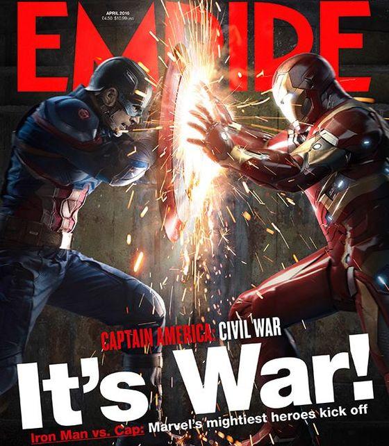 Обложка журнала Empire