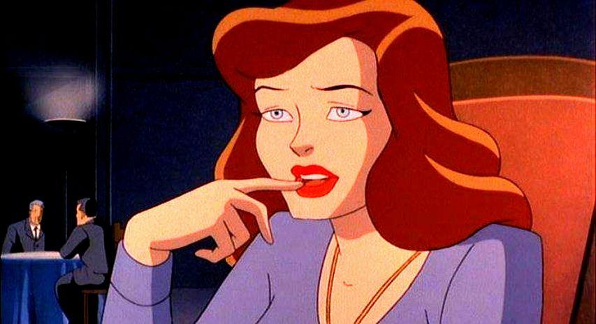 Кадр из мультфильма «Бэтмен: Маска Фантазма»