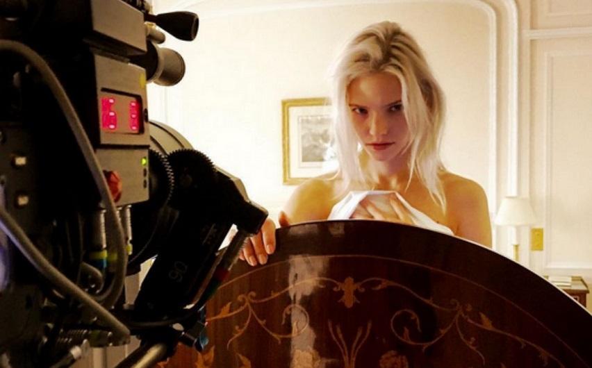 На съемках фильма «Анна». Фото с сайта kinopoisk.ru