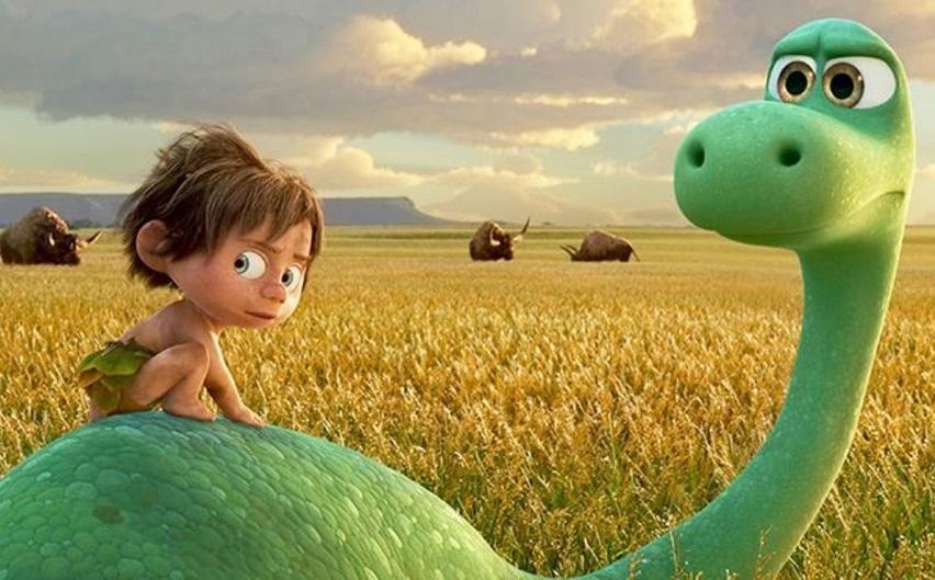 Кадр из мультфильма «Хороший динозавр»