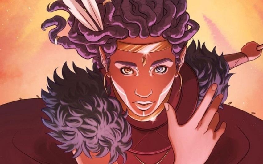 Кадр из комикса «Ниобе»