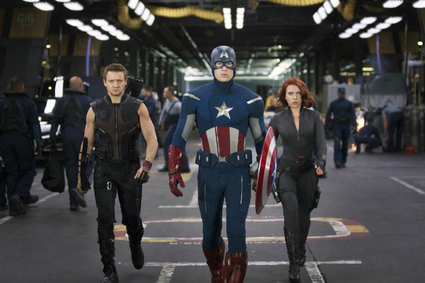 Кадр из фильма «Мстители» 2012