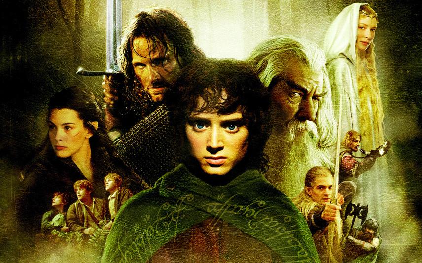 Постер «Властелина колец»