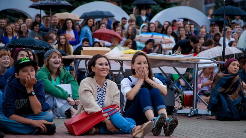 В субботу в Екатеринбурге можно будет посмотреть большое кино прямо на улице