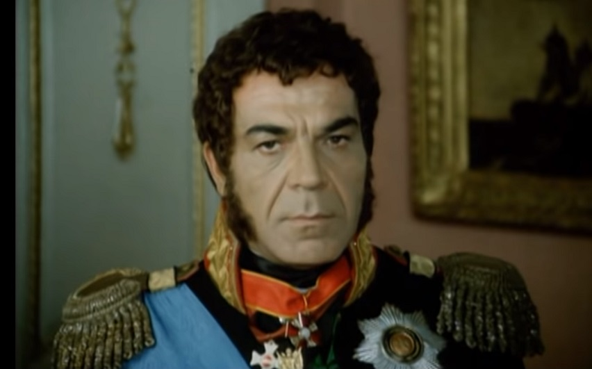 Кадр из фильма «Багратион»