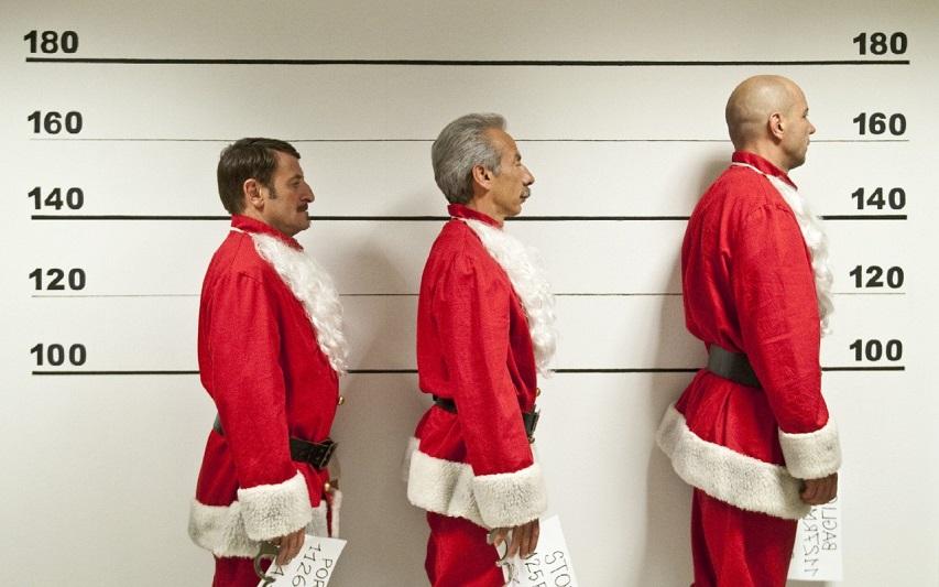 Кадр из фильма «Банда Санта-Клаусов»