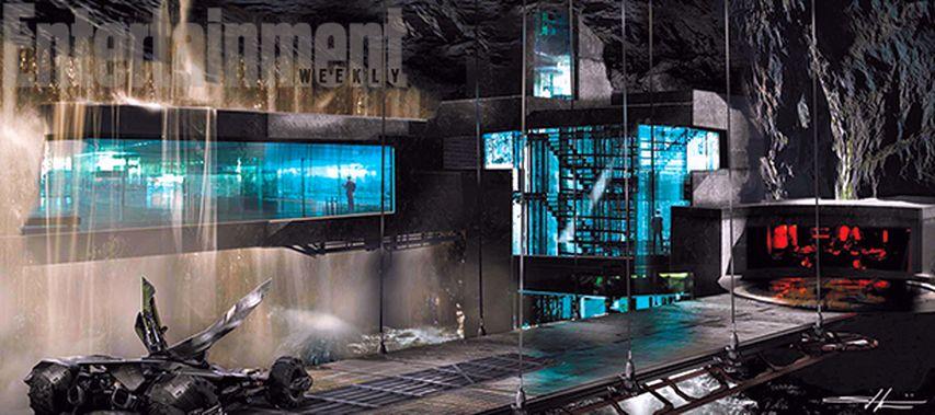 Концепт фильма «Бэтмен против Супермена: На заре справедливости»