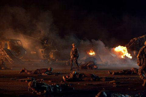 Кадр из фильма «Инопланетное вторжение: Битва за Лос-Анжелес»
