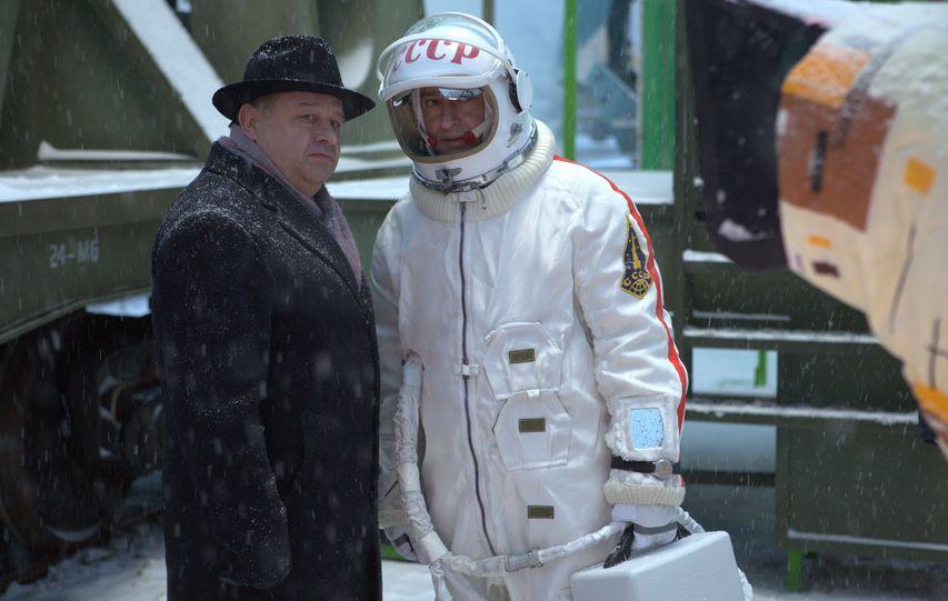 На съемках фильма «Время первых». Фото предоставлено компанией Bazelevs
