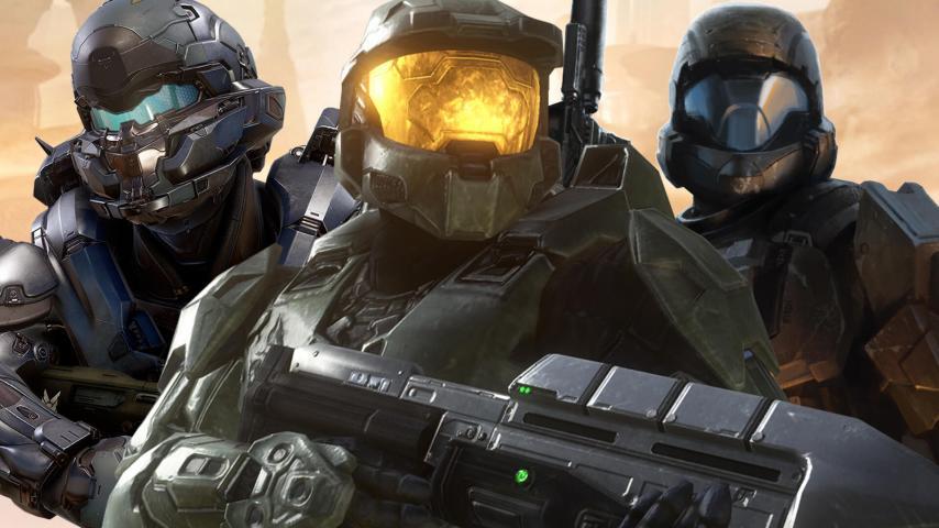 Кадр из игры Halo