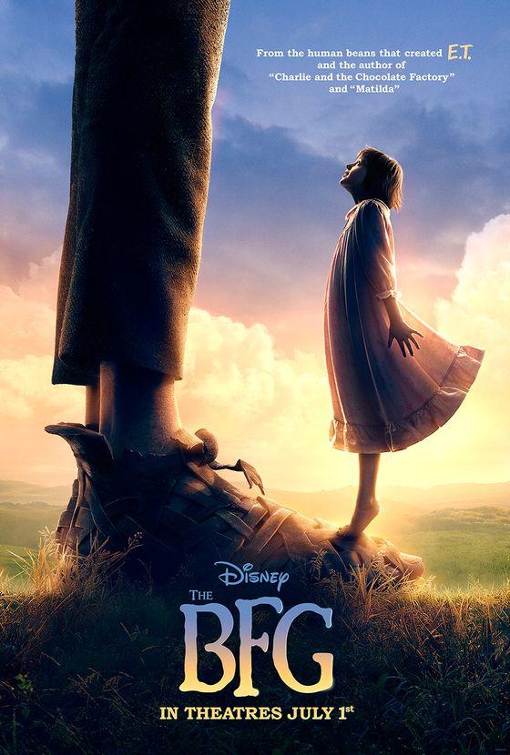 Постер фильма «Большой дружелюбный великан»