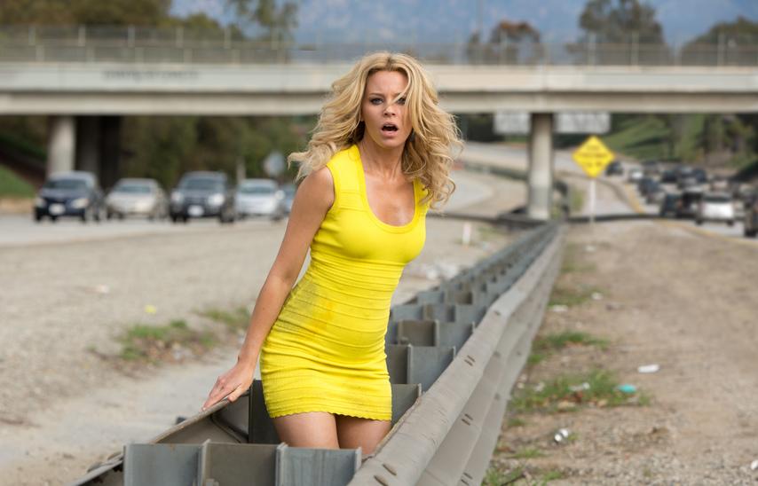 Кадр из фильма «Блондинка в эфире»