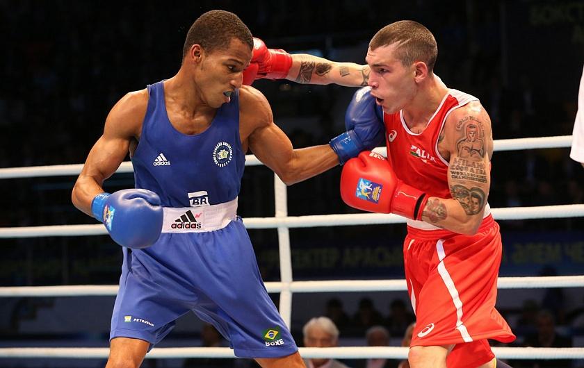 Фото с боксерского турнира предоставлено организаторами