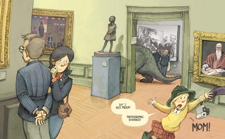 Кадр из комикса «Боливар»