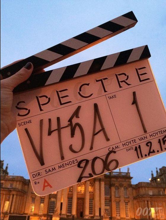 Фото из официального «твиттера» «Агент 007: Спектр»