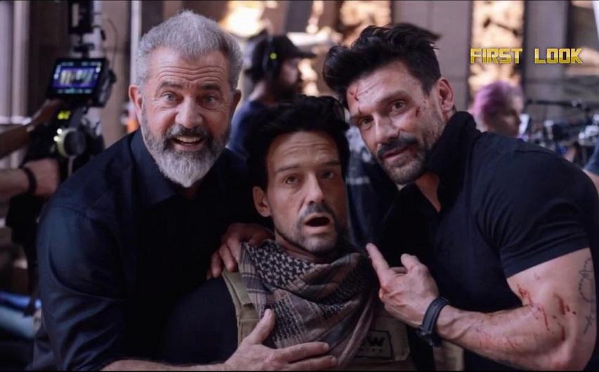 На съемках фильма «Последний уровень». Фото с сайта YouTube.com