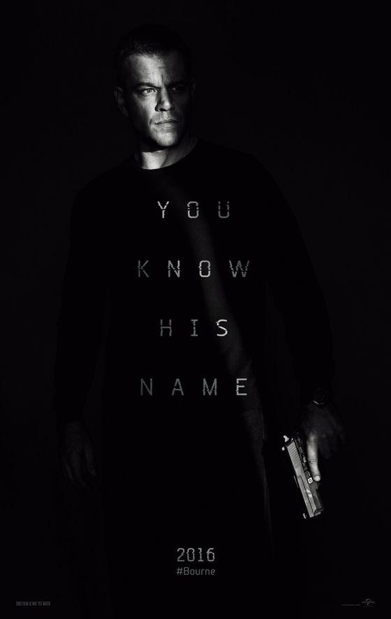 Постер фильма «Джейсон Борн»