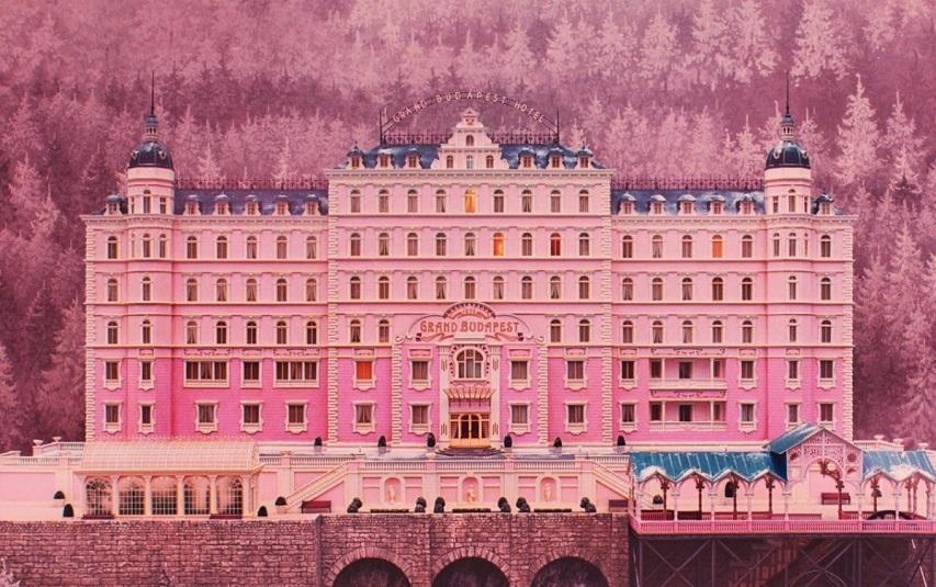 Кадр из фильма «Отель Гранд Будапешт»