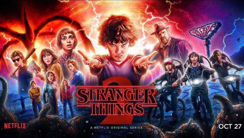 Постер к сериалу «Очень странные дела 2»
