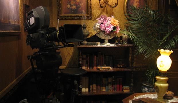 Готовый интерьер для съемок. Фото (С) Weburg.net