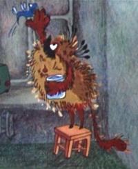 Кадр из мультфильма «Чудовище»