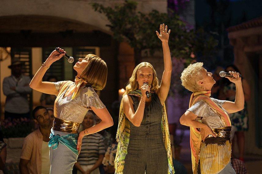 Кадр из фильма «Mamma Mia 2»