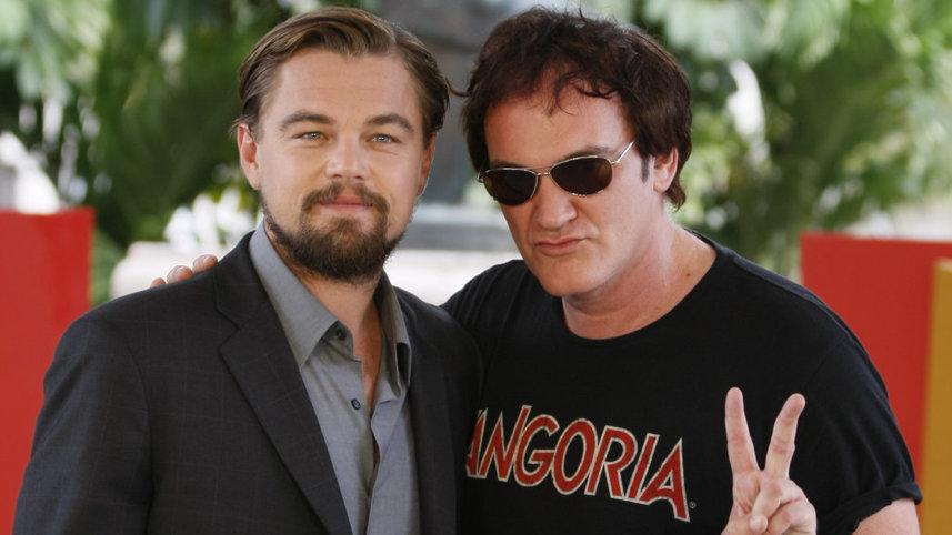 Тарантино и Ди Каприо. Фото с сайта cinemadslr.ru