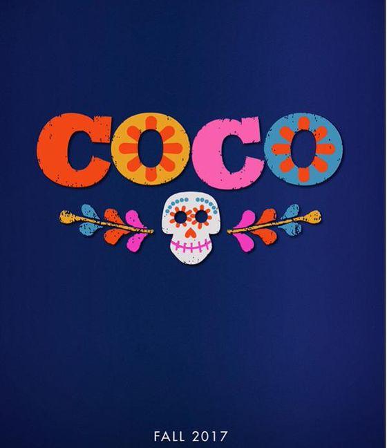 Постер мультфильма Coco
