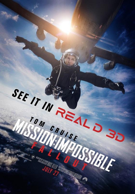 Постер фильма «Миссия невыполнима: Последствия»