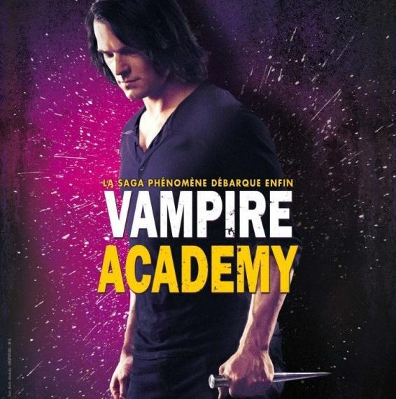 Постер к фильму «Академия вампиров. Сестры по крови»